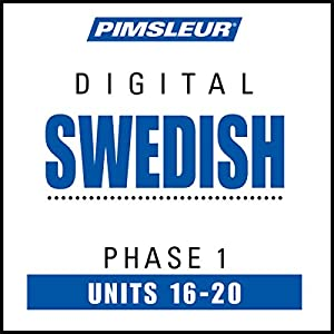 Swedish Phase 1, Unit 16-20 Audiobook