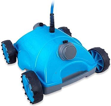Homeure Robot automático Limpiafondos Eléctrico para Piscinas Limpiafondos Autónomo Aspirador-Alcance de Limpieza 220m²: Amazon.es: Deportes y aire libre