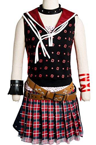 Women's Cosplay Costume Final Fantasy XV FF 15 Iris Amicitia Uniform Dress Suit Set