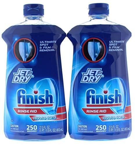 2 Pk. Finish Jet-Dry Rinse Aid Advanced 27.5 fl oz (55 Fl. Oz Total)