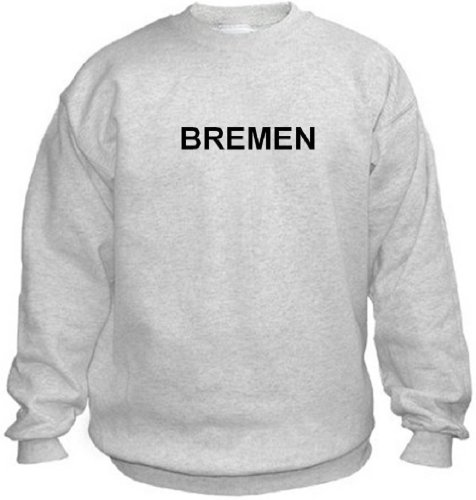 Price comparison product image BREMEN - City-series - Light Grey Sweatshirt - size X-Small