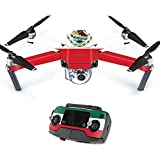 Skin For DJI Mavic – Mexican Flag | MightySkins Protective, Durable, and Unique Vinyl Decal wrap cover | Easy To Apply, Remove, and Change Styles | Made in the USA