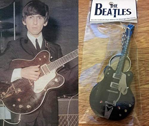 Keychain Guitar Gretsch Chet Atkins George Harrison The - Atkins Chet Guitar Style
