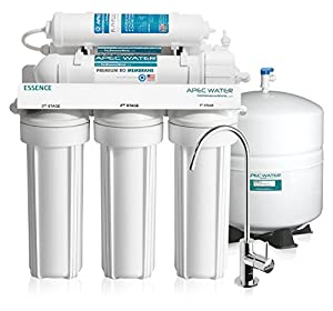 APEC Top Tier Alkaline Mineral Ph+ Ultra Safe Built In USA Reverse Osmosis Drinking Water Filter System (ESSENCE ROES-PH75)