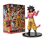 Banpresto 49454 Dragon Ball Heroes DXF Volume 3 with Card 6.5' Super Saiyan 4 Son Goku Action Figure