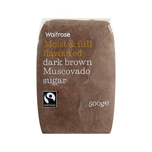 Waitrose Sugar Dark Brown Muscovado 500g (Chocolate 500g Cake)