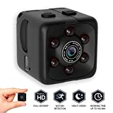 pqusno SQ11 Portable Cube Camera|Motion Detection Camera |1080p HD Indoor Wireless Family Safety Mini Spy Hidden Camcorder with Night Vision
