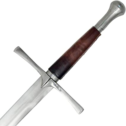 Medieval Warrior Late Middle Ages Full Tang Tempered Battle Ready Hand Forged Sword