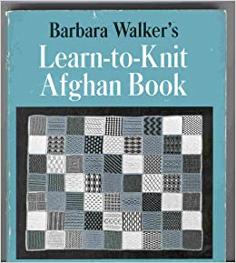 The Learn-To-Knit Afghan pattern by Barbara G. Walker