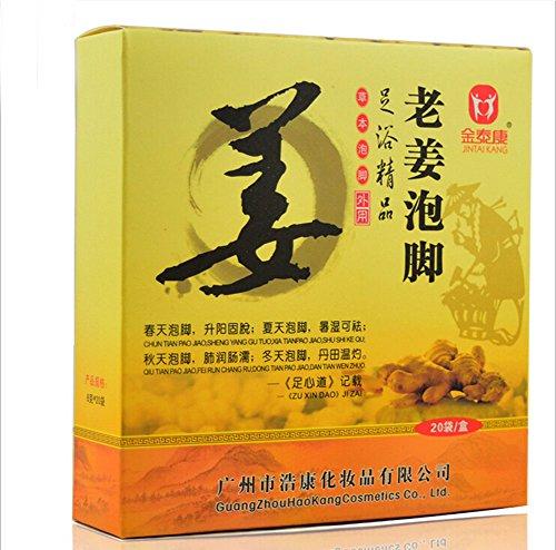 Foot Bath Spa Bubble Soak Powder Bama-Herbal Health Lavipeditum(Orange Ginger)