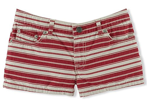 Ralph Lauren Girls Striped Jean Short (12)