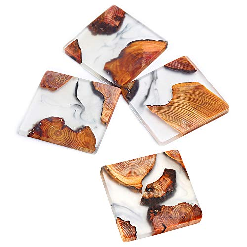 """Homestia Absorbent Coaster for Drinks 3"""" Natural"""