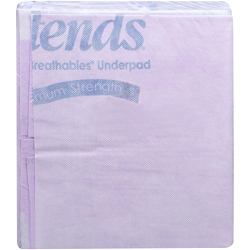 Attends Supersorb Maximum, Premium Underpads with Dry-Lock Technology, Adult Incontinence Care, 30''x36'' ,  60 Count by Attends (Image #1)