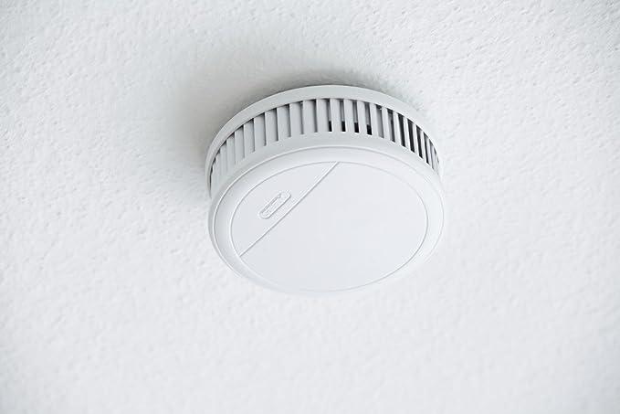 Abus RM20 Li - Detector de humo y de calor (autónomo), color blanco [Importado de Alemania]: Amazon.es: Bricolaje y herramientas