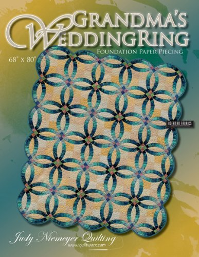 Amazoncom Grandmas Wedding Ring Quilt Pattern