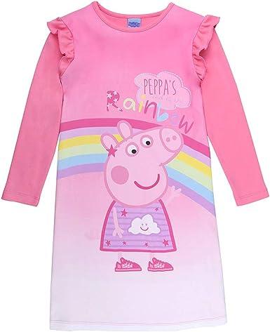 Peppa Pig niñas camisón, Ropa de Dormir, Pink: Amazon.es: Ropa y ...