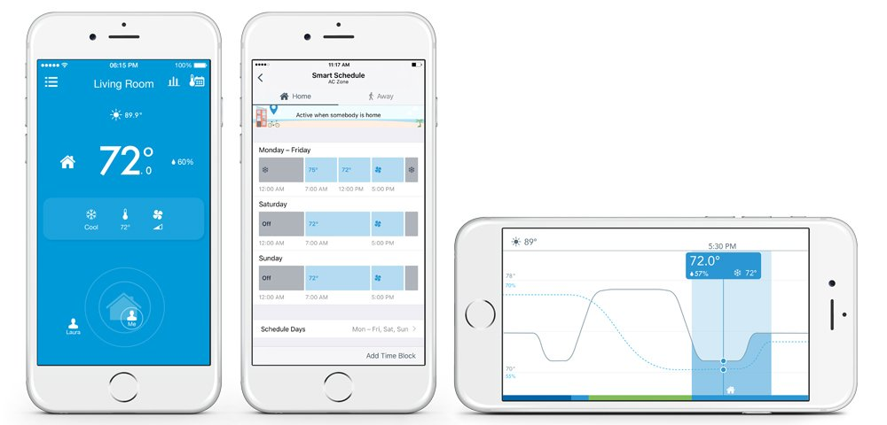 Tado Smart Air Conditioner and Heater Controller, Wi-Fi,  Compatible with iOS and Android, Works with Amazon Alexa by TADO (Image #3)