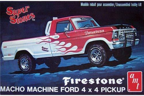 1978 Ford Truck >> Ertl 1978 Ford 4x4 Firestone Pickup 1 25 Scale Model Kit