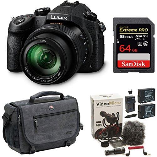 Panasonic LUMIX DMC-FZ1000 16X Long Zoom Digital Camera (Black) (64GB Rode Video Bundle) Review