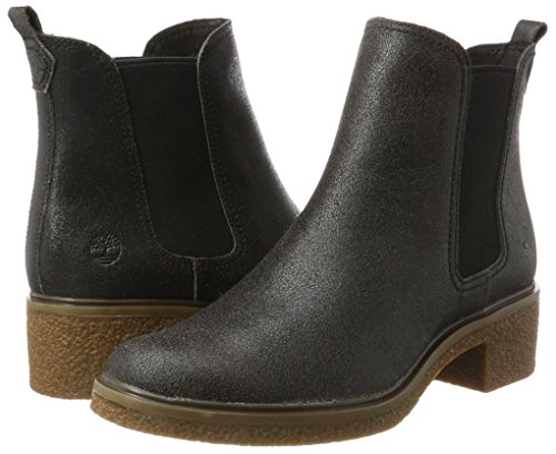 Femme Double Brinda Chelsea Gore Chukka Iron on Timberland Bottes Gris Pull forged twq8q