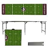 NCAA Florida State University Seminoles FSU Football Field Version 8' Folding Tailgate Table