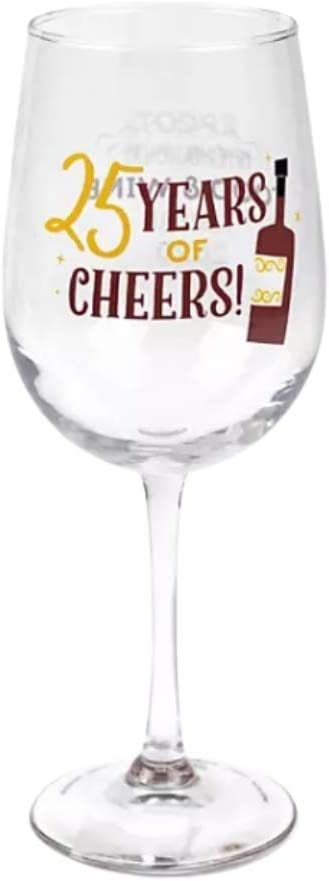 Disney Parks Epcot Food and Festival 2020 25th Anniversary Wine Glass