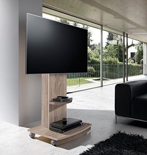OVERHOME365 4238 B/CM - Mesa TV, madera, color blanco y cambrian ...