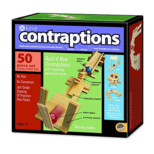 MINDWARE KEVA CONTRAPTIONS 50 PLANK SET (Set of (Keva 200 Planks)