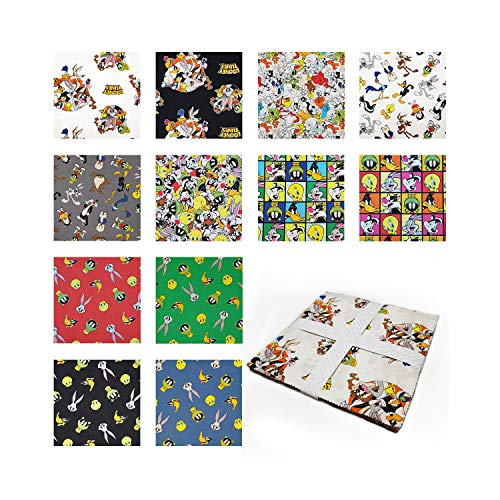 Camelot Fabrics Looney Tunes 10'' Squares 42 Pcs. ()