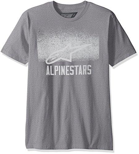 - Alpinestars Men's Range Tee, Athletic Heather, Large