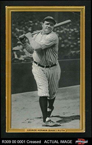 1934 Goudey Premium # 4 Babe Ruth New York Yankees (Baseball Card) Dean's Cards 2 - GOOD Yankees
