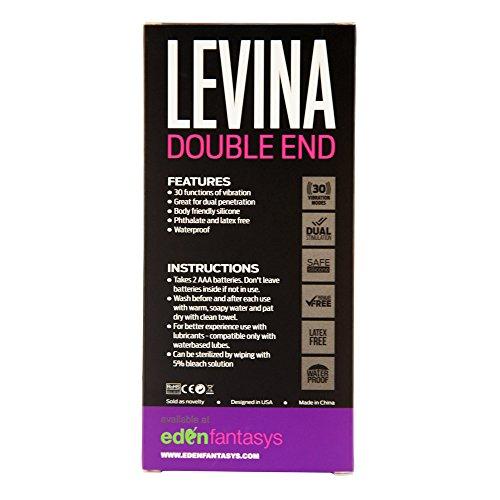 Aphrodisia Levina double end - Silicone Waterproof Realistic double penetration vibrator