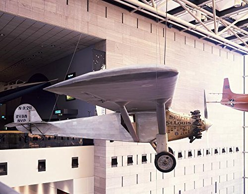 Photo: Charles Lindbergh,Spirit of St. Louis,Airplane,Smithsonian,National - Mall Charles St