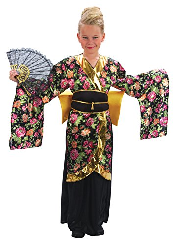 Bristol Novelty Geisha Girl Costume (XL) Childs Age 9 - 11 Years -