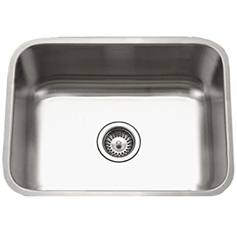 Awe Inspiring Houzer Sts 1300 1 Eston Series Undermount Stainless Steel Single Bowl Kitchen Sink 18 Gauge Download Free Architecture Designs Scobabritishbridgeorg
