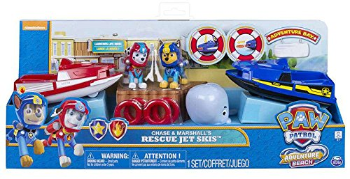 Jet ski trainers4me paw patrol adventure beach chase and marshalls rescue jet skis fandeluxe Image collections