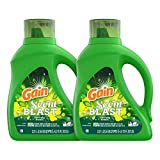 Gain Scent Blast Liquid Laundry Detergent, Fiercely Fresh, 150 Fl Oz, 96 Loads, 2 Count