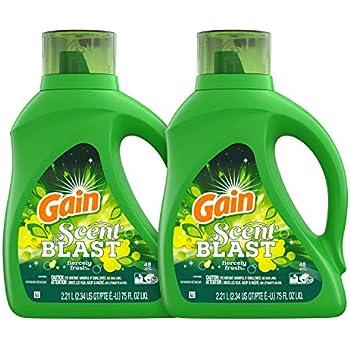 Amazon Com Gain Laundry Detergent Liquid Original 150 Oz