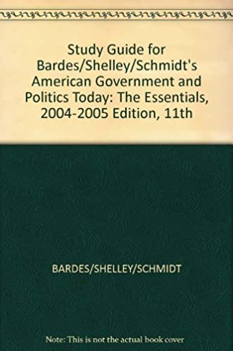 study guide for bardes shelley schmidt s american government and rh amazon com The Essentials of American Government 12 Edition Course Notes American Government