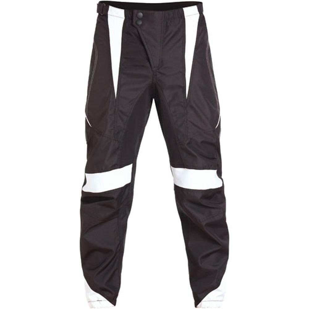 BILT Victor Off-Road Motorcycle Pants - 36, Black/White by Bilt
