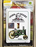 ShopForAllYou Vintage Decor Signs John Deere Light Switch Plate Cover Antique Vintage Tractor Garage Kitchen Decor