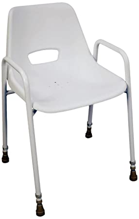 bench walmart with ip molded chair plastic shower arms back com adjustable