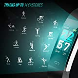 FITFORT Fitness Tracker Color Screen - 2020