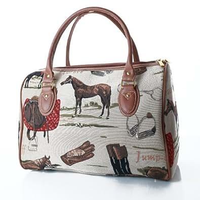 Signare - Bolso de viaje, diseño de caballos