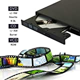 Portable USB 2.0 External cd-rw DVD - rw