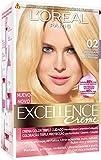 Coloración Excellence Crème Triple Protección 02 Rubio Ultra Claro Dorado de L'Oréal Paris