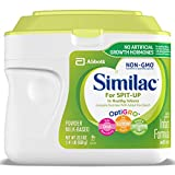 Similac for Spit Up Infant Formula with Iron, With Rice Starch, Baby Formula, Powder, 1.41 lb