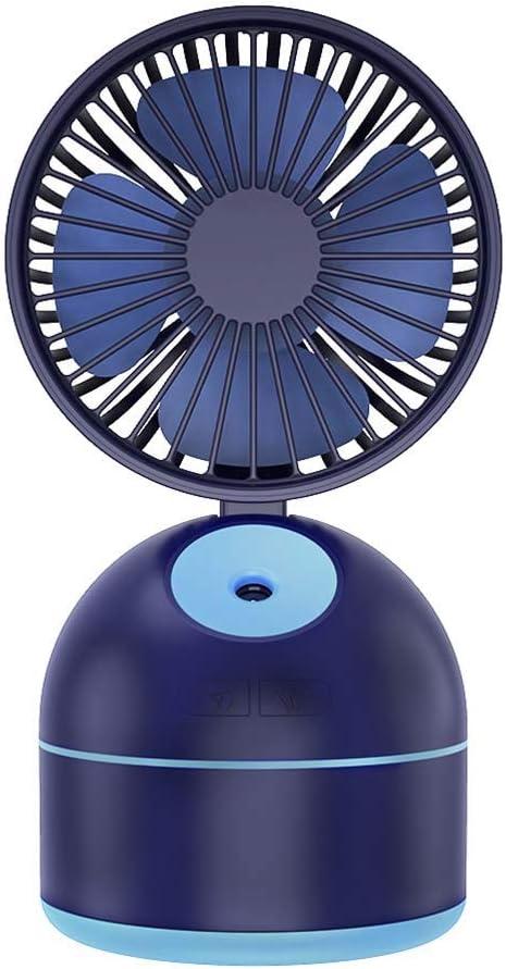 Ventilador de nebulización Ventilador de mesa personal Ventilador ...