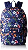 JanSport Backpack Big Student Classics - MULTI NAVY MOUNTAIN MEADOW