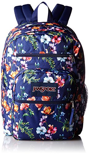 JanSport Big Student Classics Series Backpack - Multi Navy Mountain Meadow (Jansport Solid Backpacks)